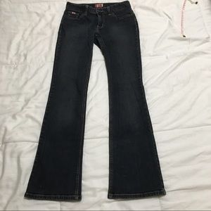 Tilt Low-Rise Flare Jeans